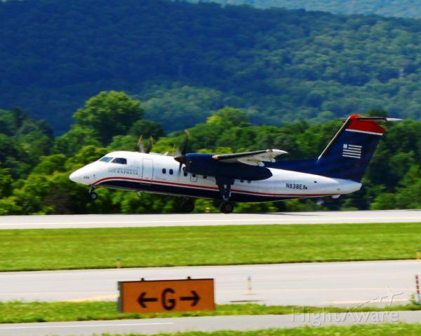 N838EX — - Rotation on departure off runway 24