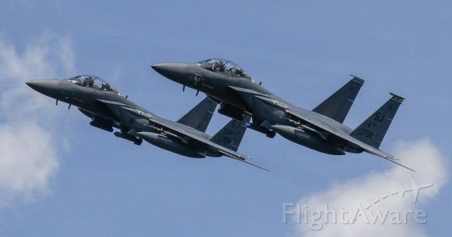 McDonnell Douglas F-15 Eagle — - low level