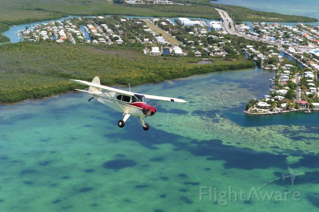 Piper PA-20 Pacer (C-FGAG) - going fo key lime pie at Marathon.