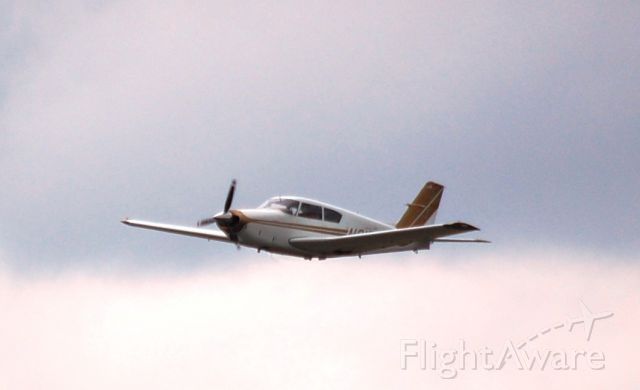 Piper PA-24 Comanche (N6172P) - 155KT on the clock low pass.