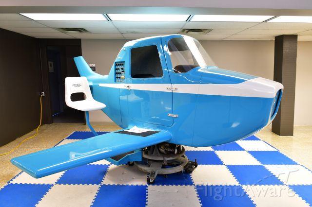 — — - 1967 Link General Aviation Trainer GAT-1-A flight simulator for general aviation in Cleveland Burke Lakefront Airport