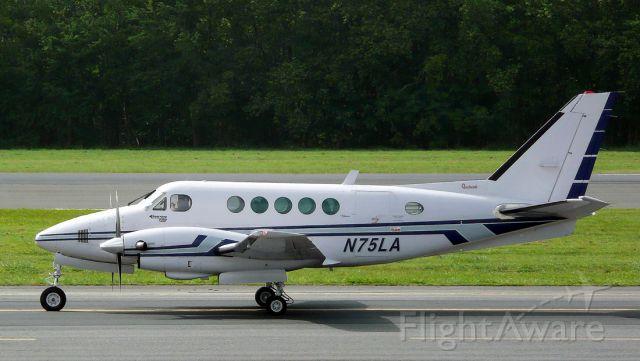 Beechcraft King Air 100 (N75LA) - Infra Limited SE, San Juan