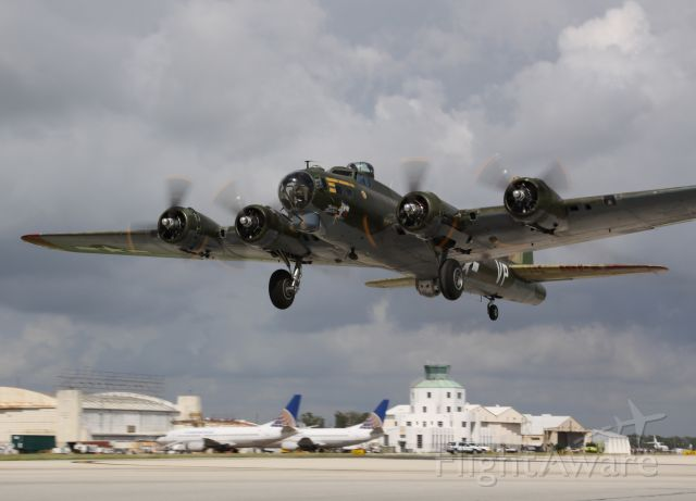 Boeing B-29 Superfortress (N7227C) - After many years of being stuck on terra firma for a lengthy maintenance project, Texas Raiders finally returned to flight at KHOU on Wednesday, October 14th, 2009!