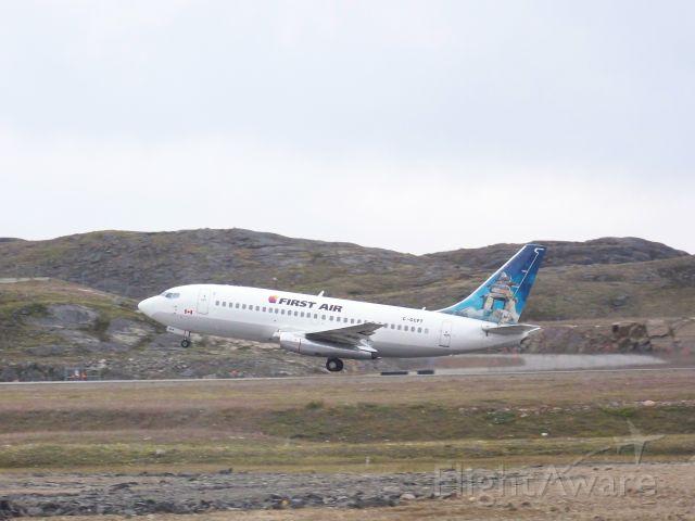 Boeing 737-200 (C-GCPT) - flight 861 departing to Ottawa