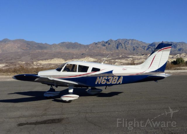 Piper Cherokee (N63BA) - Furnace Creek in Death Valley 2013