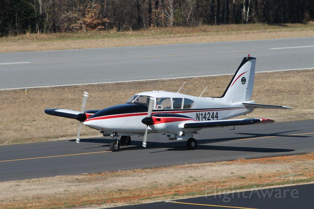 Piper Aztec (N14244) - Landcare Aviation Inc