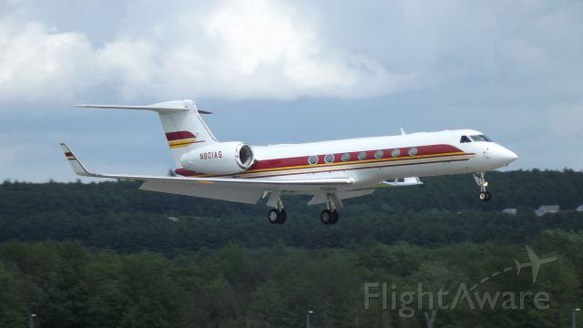 Gulfstream Aerospace Gulfstream V (N801AS) - 2006 Gulfstream G550