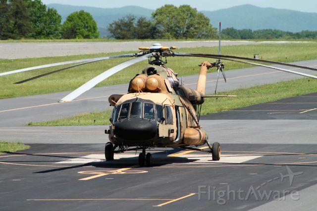 — — - Afghan Air Force Mi-17 at KHKY