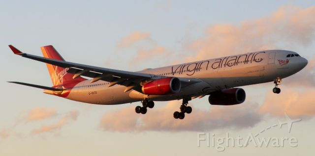 """Airbus A330-300 (G-VKSS) - Named """"Mademoiselle Rouge!"""""""