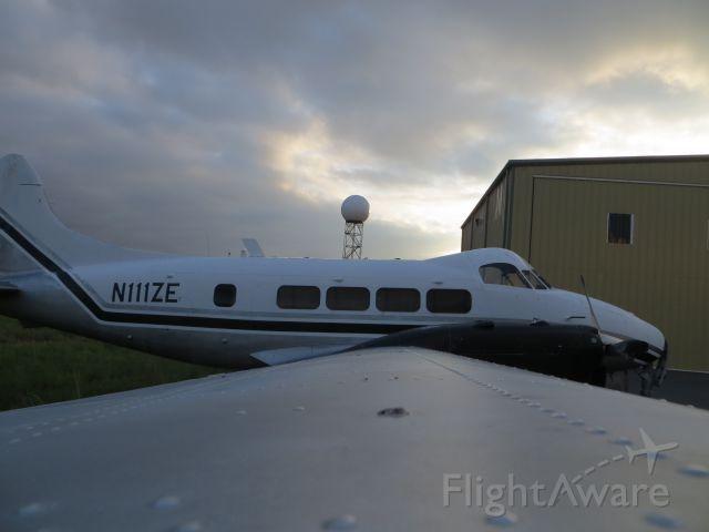 Hawker Siddeley Dove (N111ZE)