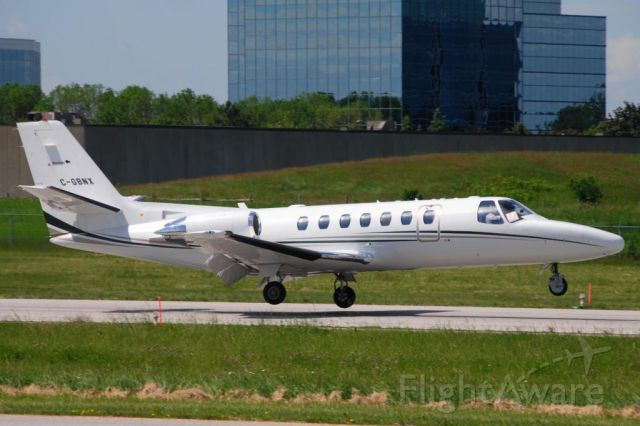 Cessna Citation V (MBT2) - Province of Manitoba Air Ambulance C-GBNX Citation 560 V landing Toronto Buttonville June 17 2013.