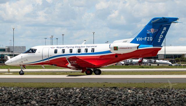 Pilatus PC-24 (VH-FZQ)