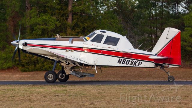 AIR TRACTOR Fire Boss (N803KP) - Heading out to spray after being topped off at KOCH.