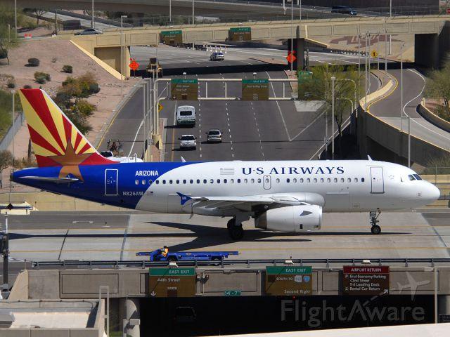 "Airbus A319 (N826AW) - ""Arizona"""
