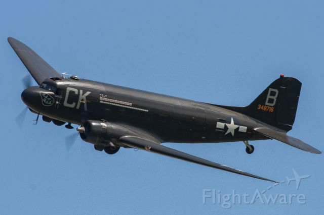 "Douglas DC-3 (N836M) - American Airpower Museum's 1943 Douglas C-47 Skytrain ""Luck Of The Irish"" at the 2019 Greatest Show on Turf in Geneseo, NY"