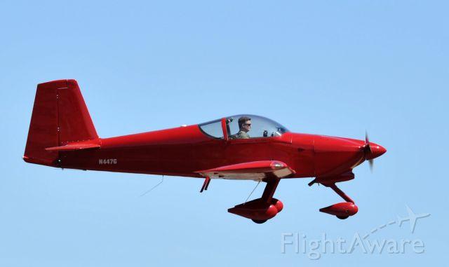 Experimental  (N447G) - Airborne  KLVJ