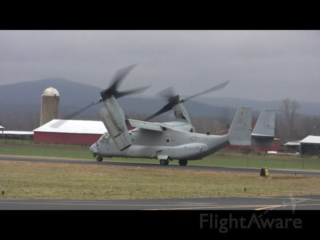 Bell V-22 Osprey — - Two v22 were weathered in an had to stay in Winchester for the night.