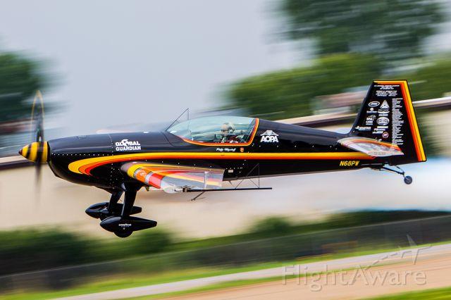 EXTRA EA-300 (N68PW) - Patty Wagstaff !