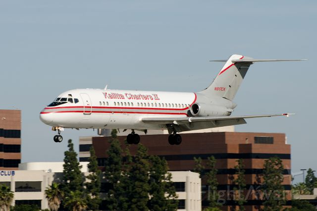 Douglas DC-9-10 (N917CK) - Fifty year old DC-9 returns to its airport of origin.