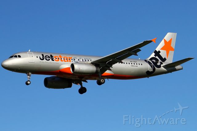 Airbus A320 (VH-VGY)