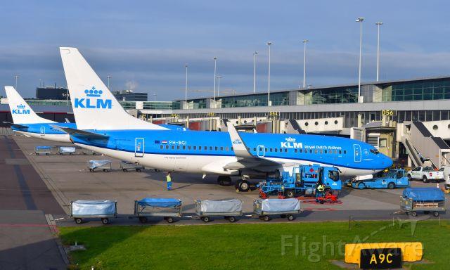 Boeing 737-700 (PH-BGI) - KLM Boeing 737-7K2(WL) PH-BGI in Amsterdam