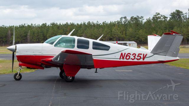 Beechcraft 35 Bonanza (N635V)