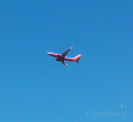 Boeing 737-700 (N964WN) - N964WN with split scimitars