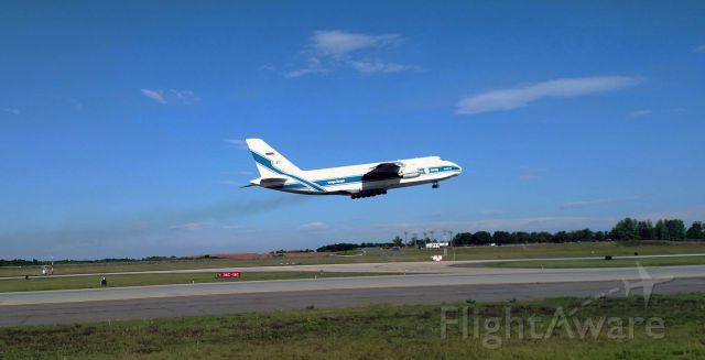 Antonov An-124 Ruslan (RA-82078) - Leaving to Miramar