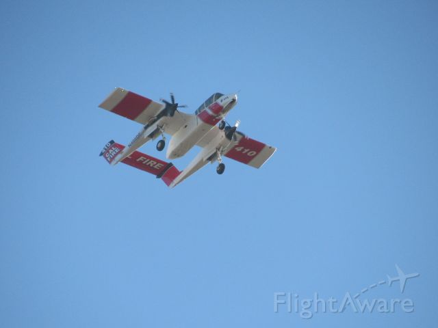 N400DF — - N400DF flying over Porterville Muni.