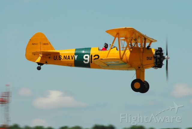 Boeing PT-17 Kaydet (N17PY) - Stearman at the Kansas City Air Show 2011