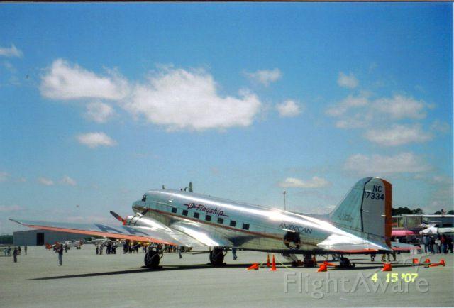 """Douglas DC-3 (NAC17334) - American Airlines Vintage DC-3"""" Gainesville Air-Show"""" April 15th,2007"""