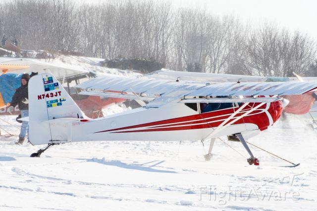 Beechcraft 55 Baron (N743JT)
