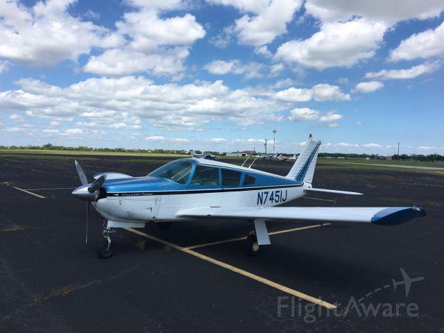 Piper Cherokee Arrow (N7451J) - Antique Planes and Car show at La Porte, TX