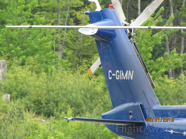 C-GIMN — - Parked on Helipad at the Hospital in Bridgewater NS...June 1/2010