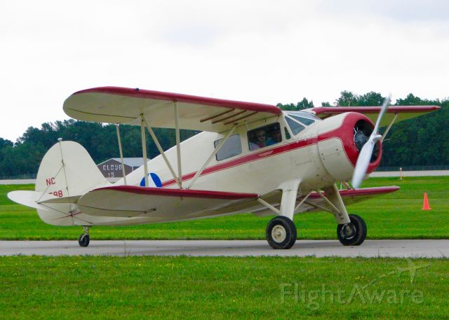 WACO O (N16598) - At Oshkosh. 1936 Waco YKS-6