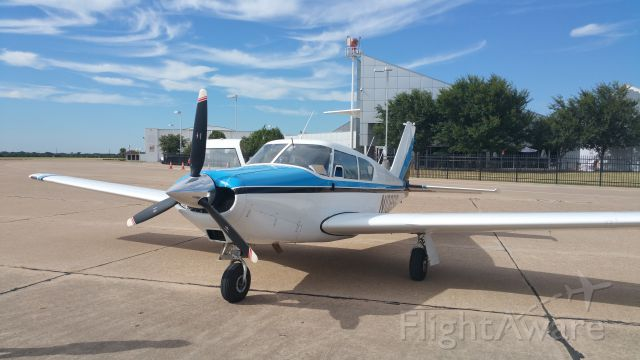 Piper PA-24 Comanche (N108SG) - We stopped for lunch at Delta Charlies - Dallas Executive Airport - July 2015