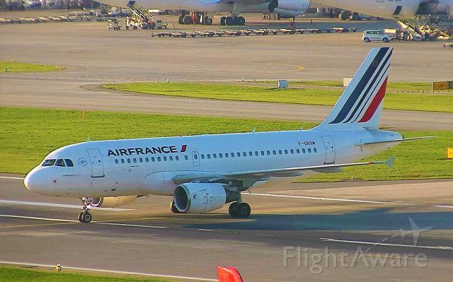 Airbus A319 (F-GRXM)