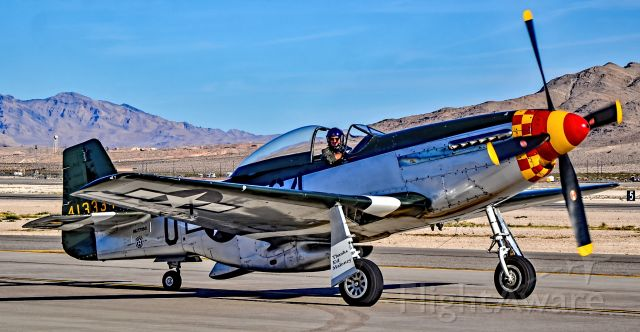 """North American P-51 Mustang (NL7715C) - NL7715C North American P-51D Mustang / 413334/G4-U (cn 122-39504) """"Wee Willy ll"""" Planes of Fame Air Museum - Aviation Nation 2017<br />Las Vegas - Nellis AFB (LSV / KLSV)<br />USA - Nevada, November 11, 2017<br />Photo: TDelCoro"""