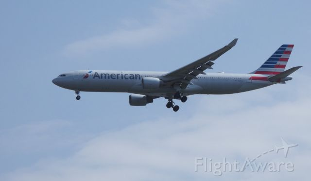 Airbus A330-300 (N271AY) - On final is this 2000 American Airlines Airbus A330-323 in the Spring of 2019.