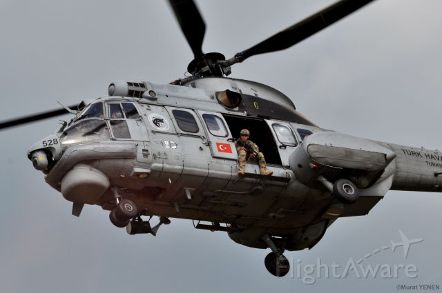 TUSAS Cougar (01-2528) - Turkish Air Force Eurocopter As-532UL Cougar