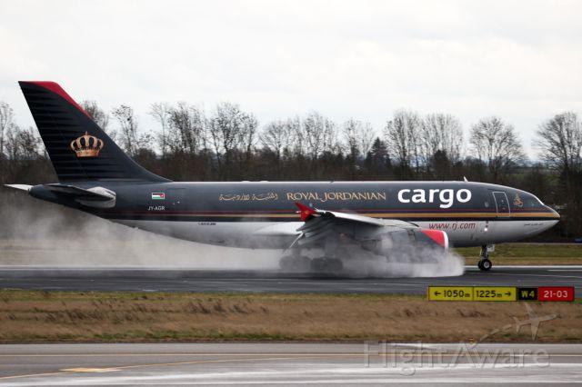 Airbus A310 (JY-AGR)