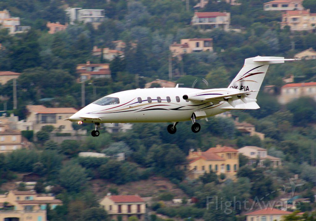 Piaggio P.180 Avanti (OK-PIA)