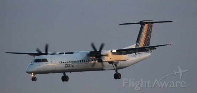 de Havilland Dash 8-400 (C-GKQI) - 2nd photo of this airframe. Taken at Toronto Billy Bishop
