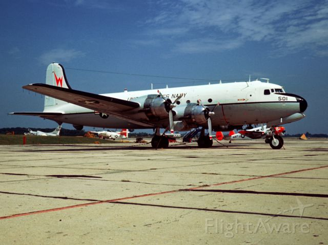 N56501 — - Weapons Systems Test aircraft on ramp at Pax River September 1965.