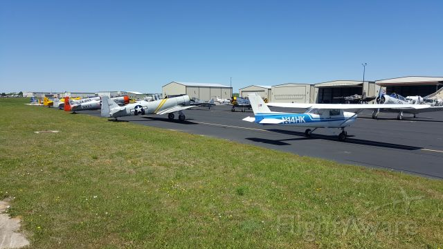 Cessna Commuter (N1234) - 12 T-6s and a B-25J Mitchell gathered at Gillespie County Airport on April 14th 2019. A memorial for the last Doolittle Raider, Dick Cole, was held in Waring Texas. These aircraft took part in the flyover.