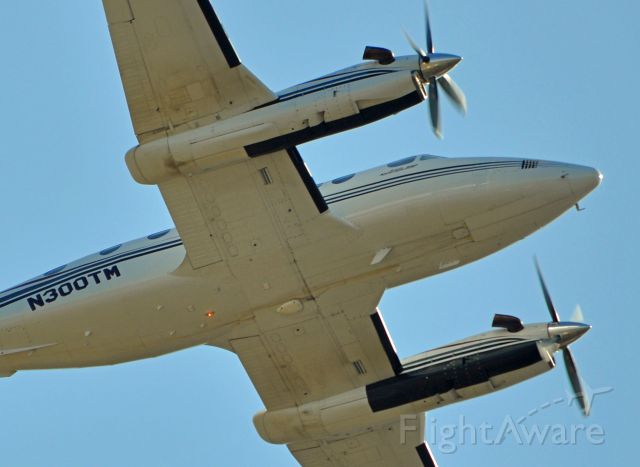 Beechcraft Super King Air 300 (N300TM) - Owned by: TAYLOR & MARTIN INC from  FREMONT NE. Taking off from Anoka Minnesota.
