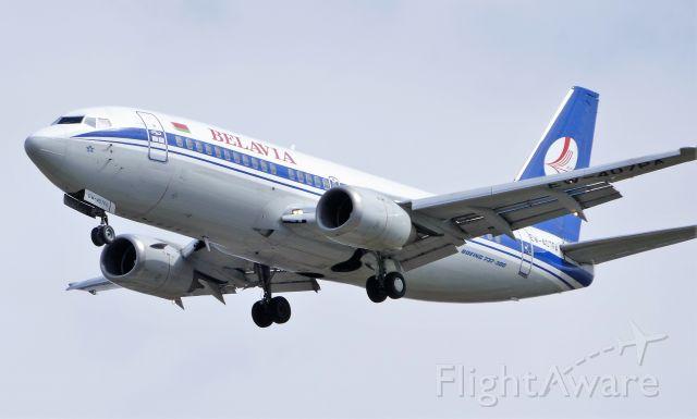 Boeing 737-700 (EW-407PA) - Photo taken on April 25, 2021
