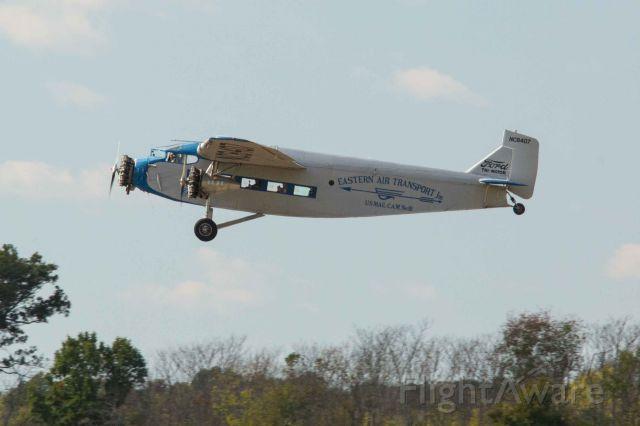 NC8407 — - EAA Ford Tri-Motor visits Manassas Virginia.