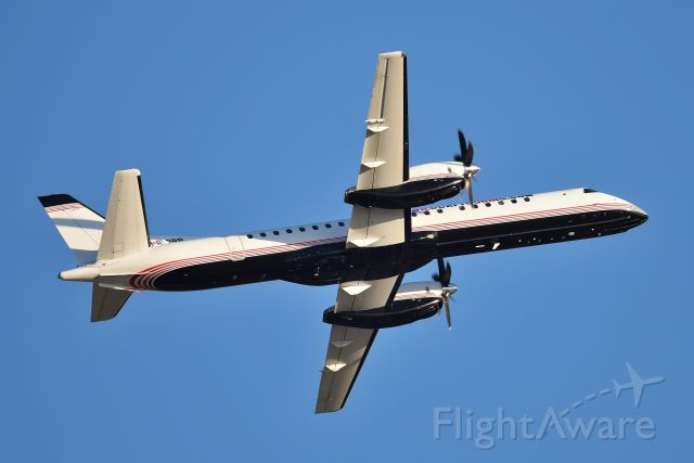 Saab 2000 (N813BB) - Departing KIND 23-L on 11-09-19 Wildcat Expeditions