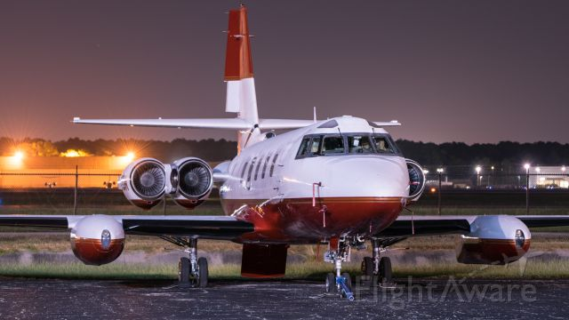 Lockheed Jetstar 2 (N72GW) - Jetstar resting on the ramp after undergoing engine
